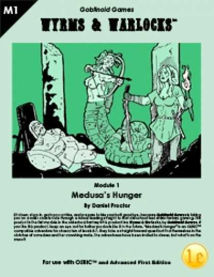 Role Playing Games - Wyrms & Warlocks: Medusa's Hunger