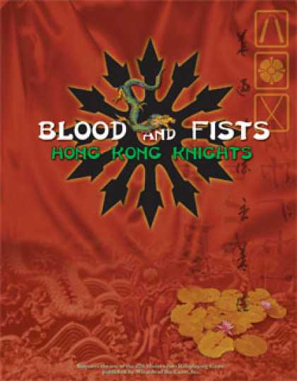 Role Playing Games - Blood and Fists: Hong Kong Knights