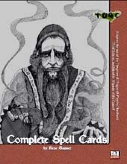 Role Playing Games - Complete Spell Cards - Updated