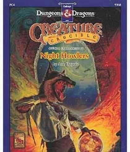 Role Playing Games - Creature Crucible - Night Howlers