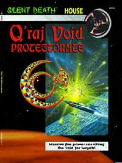 Role Playing Games - Q'raj Void Protectorate (Silent Death Houes book) PDF