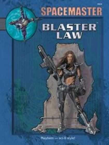 Role Playing Games - Spacemaster Blaster Law PDF