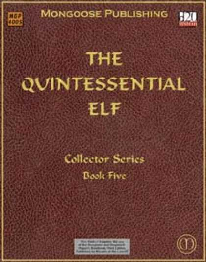 Role Playing Games - The Quintessential Elf