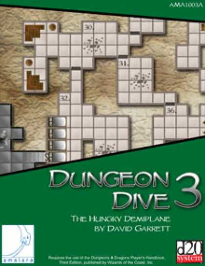 Role Playing Games - Dungeon Dive 3: The Hungry Demiplane
