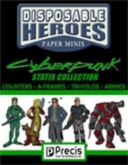 Role Playing Games - Disposable Heroes Cyberpunk Statix Collection [BUNDLE]