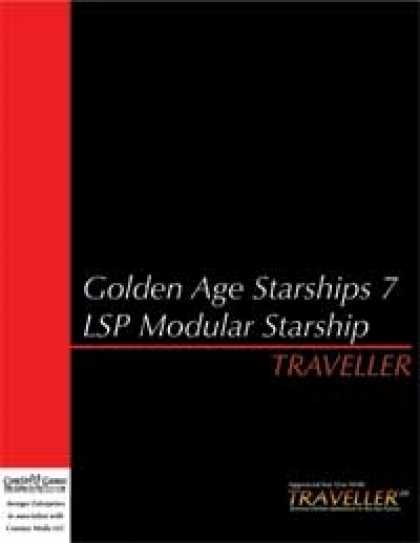 Role Playing Games - Traveller - Golden Age Starships 7: Modular Starship