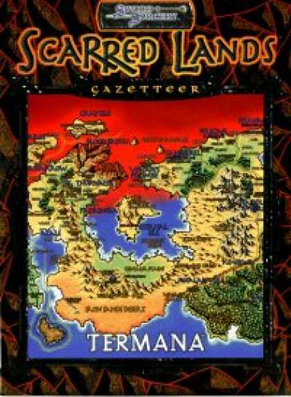 Role Playing Games - Scarred Lands Gazetteer: Termana