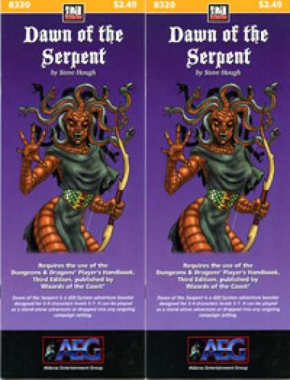 Role Playing Games - Dawn of the Serpent