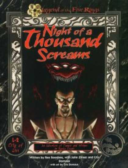 Role Playing Games - Night of a Thousand Screams