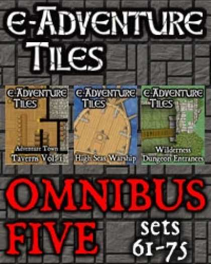 Role Playing Games - e-Adventure Tiles: Omnibus 5 [BUNDLE]