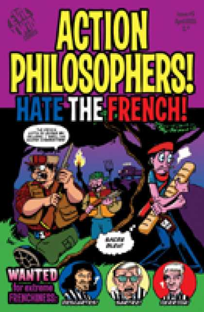 Role Playing Games - Action Philosophers #5: Hate the French