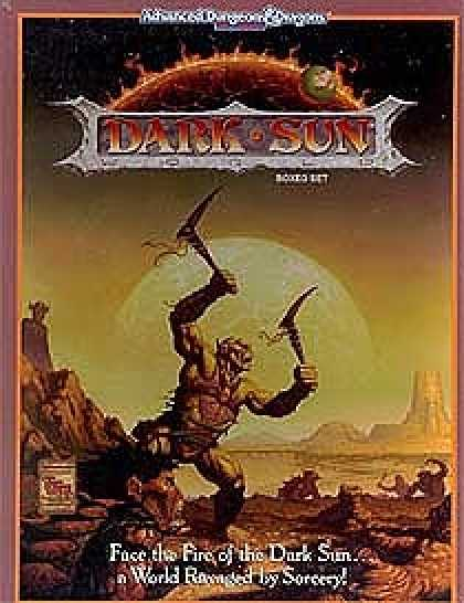 Role Playing Games - Dark Sun Campaign Setting