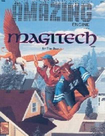 Role Playing Games - AM4: MAGITECH Universe Book