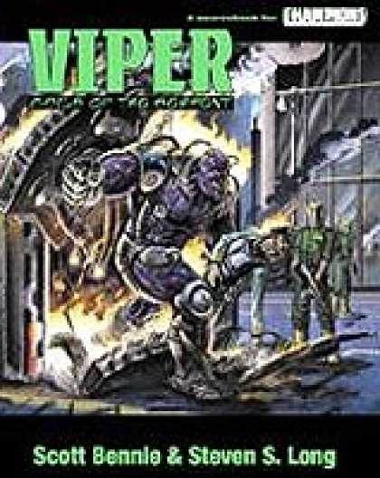 Role Playing Games - VIPER: Coils Of The Serpent - PDF