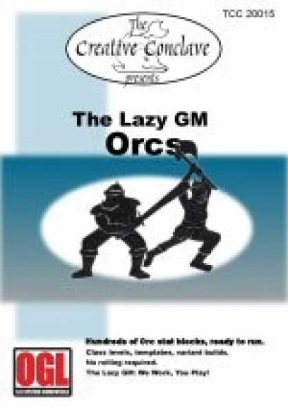 Role Playing Games - The Lazy GM: Orcs