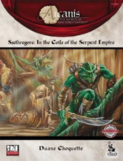 Role Playing Games - Ssethregore: In the Coils of the Serpent Empire
