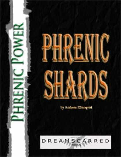 Role Playing Games - Phrenic Power: Phrenic Shards