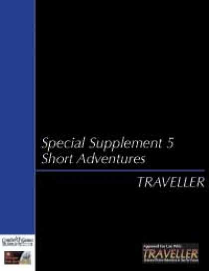 Role Playing Games - Traveller - Special Supplement 5: Short Adventures