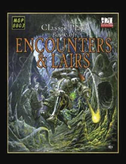 Role Playing Games - The Book of Encounters & Lairs