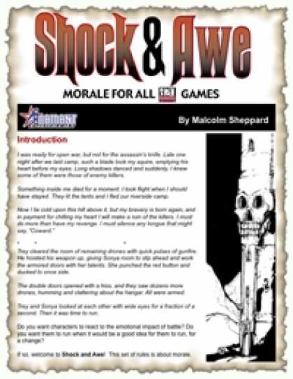 Role Playing Games - SHOCK & AWE: Morale for All D20 Games