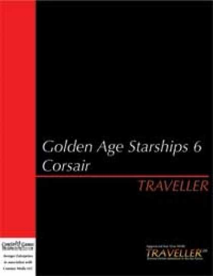 Role Playing Games - Traveller - Golden Age Starships 6: Corsair