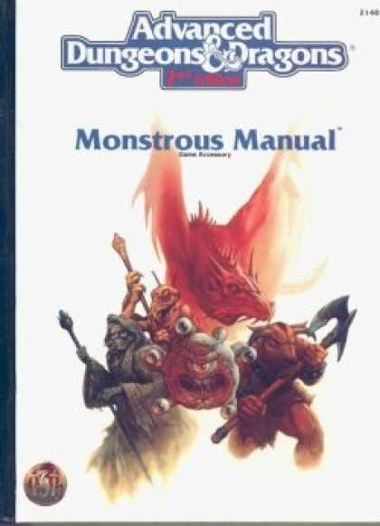 Role Playing Games - 2nd Ed. AD&D Monstrous Manual