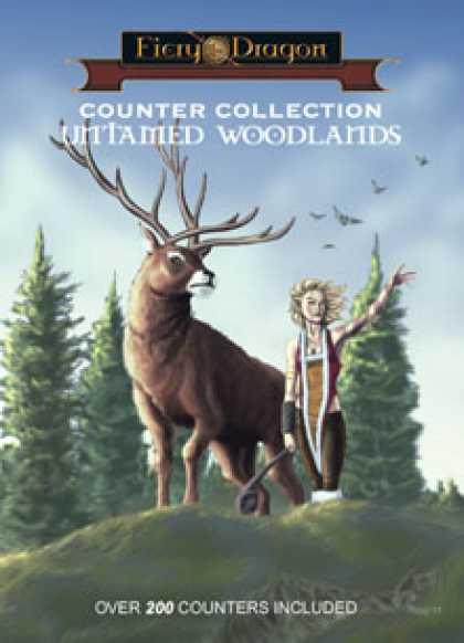 Role Playing Games - Counter Collection: Untamed Woodlands