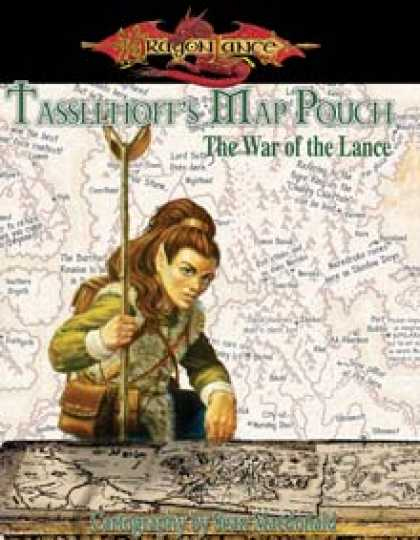 Role Playing Games - Tasslehoff's Map Pouch: The War of the Lance