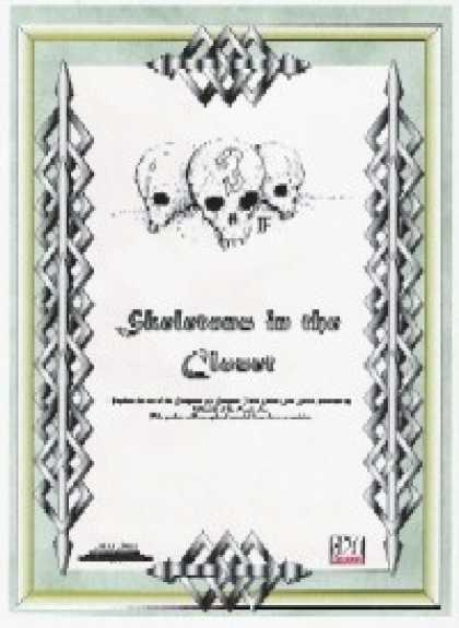 Role Playing Games - Skeletons in the Closet
