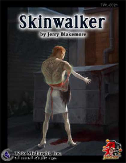 Role Playing Games - Skinwalker: Savaged edition
