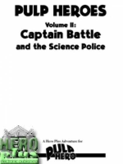 Role Playing Games - Captain Battle and the Science Police - PDF