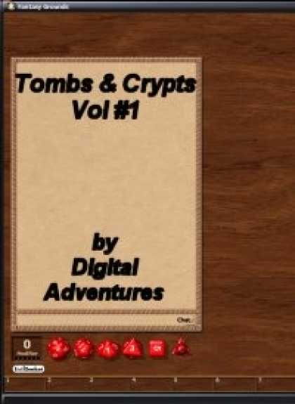Role Playing Games - Tombs & Crypts Vol #1 Fantasy Grounds Adventure
