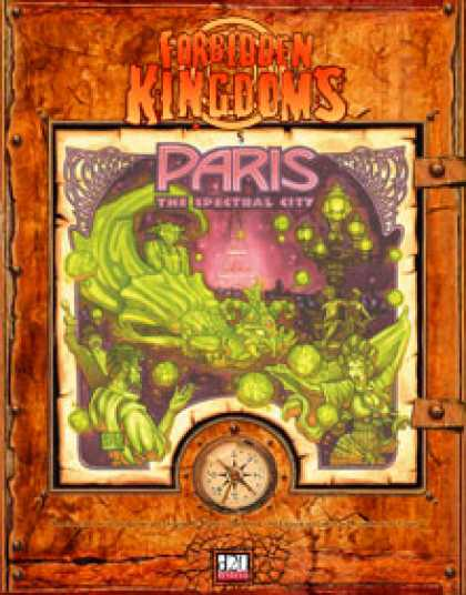 Role Playing Games - Forbidden Kingdoms - Paris: The Spectral City Babbage Edition