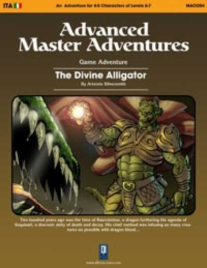 Role Playing Games - The Divine Alligator (OSRIC)