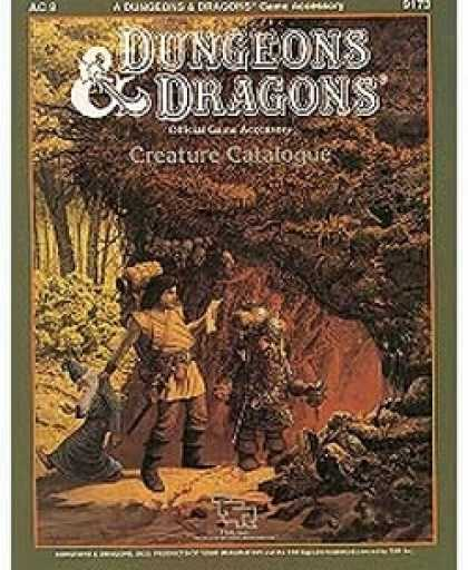 Role Playing Games - AC9 - D&D Creature Catalogue