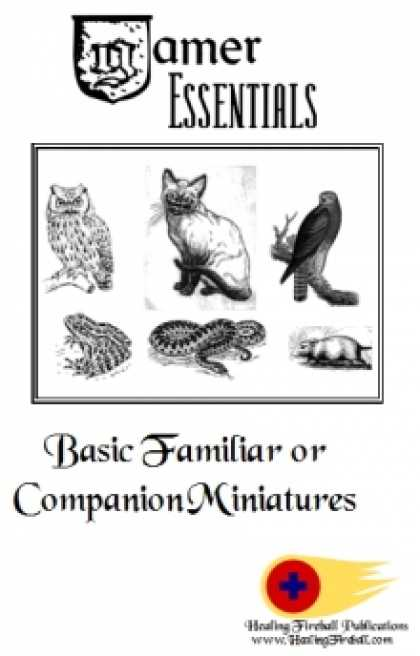 Role Playing Games - Gamer Essentials: Basic Familiar or Companion Miniatures