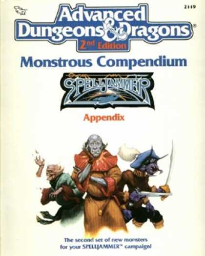 Role Playing Games - Monstrous Compendium Spelljammer Appendix 2