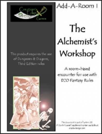 Role Playing Games - Add-A-Room I: The Alchemist's Workshop