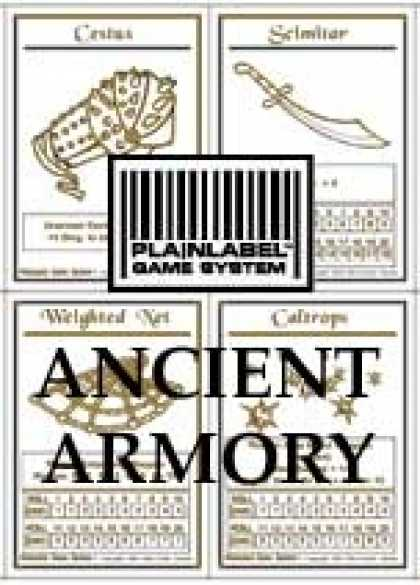 Role Playing Games - PlainLabel Ancient Armory