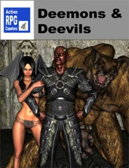 Role Playing Games - Action RPG Counters: Deemons and Deevils