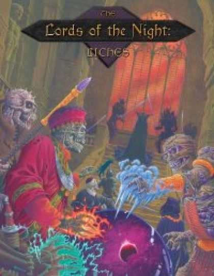Role Playing Games - The Lords of the Night: Liches