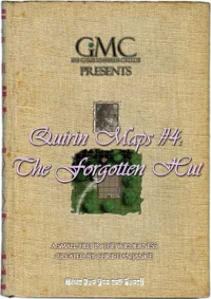 Role Playing Games - Quirin Maps #4: The Forgotten Hut