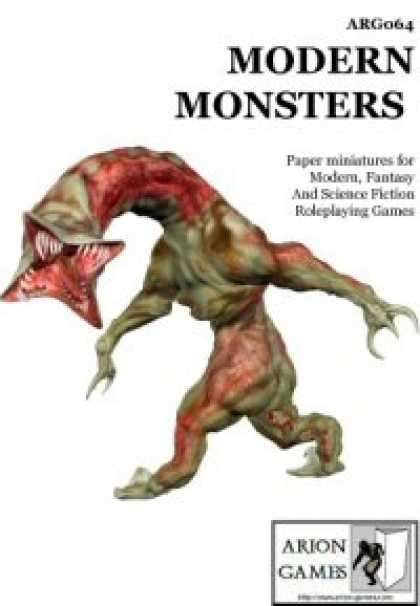Role Playing Games - Modern Monsters Set
