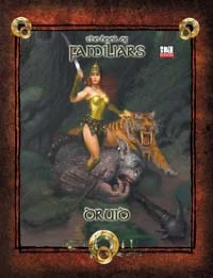Role Playing Games - Book of Familiars Druid 3.5