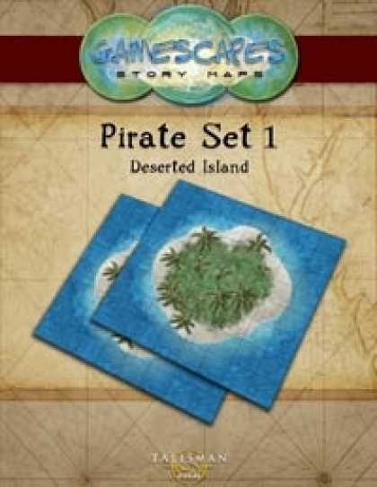 Role Playing Games - Gamescapes: Story Maps, Pirate Set 1