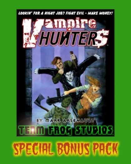 Role Playing Games - Vampire Hunter$ Special Bonus Pack
