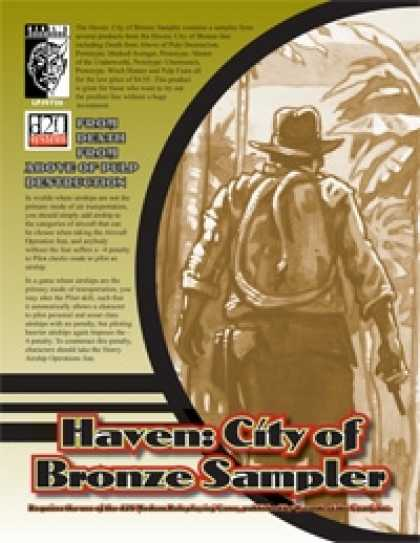 Role Playing Games - Haven: City of Bronze Sampler