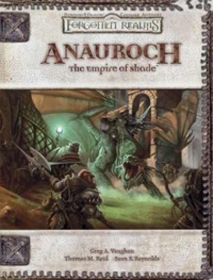 Role Playing Games - Anauroch: The Empire of Shade