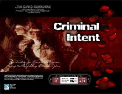 Role Playing Games - Criminal Intent (Vampire: The Requiem)
