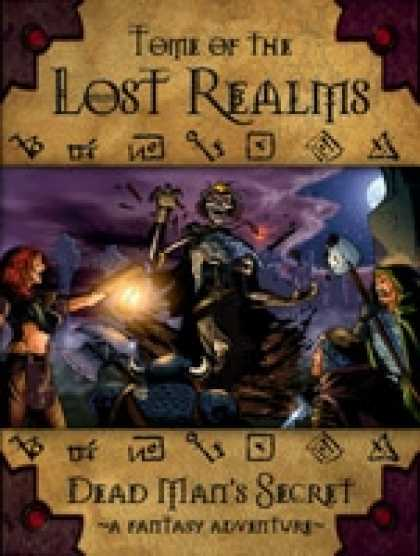 Role Playing Games - Tome of the Lost Realms Dead Man's Secret